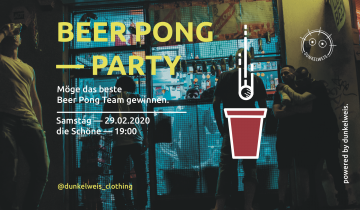 Beer Pong – Party